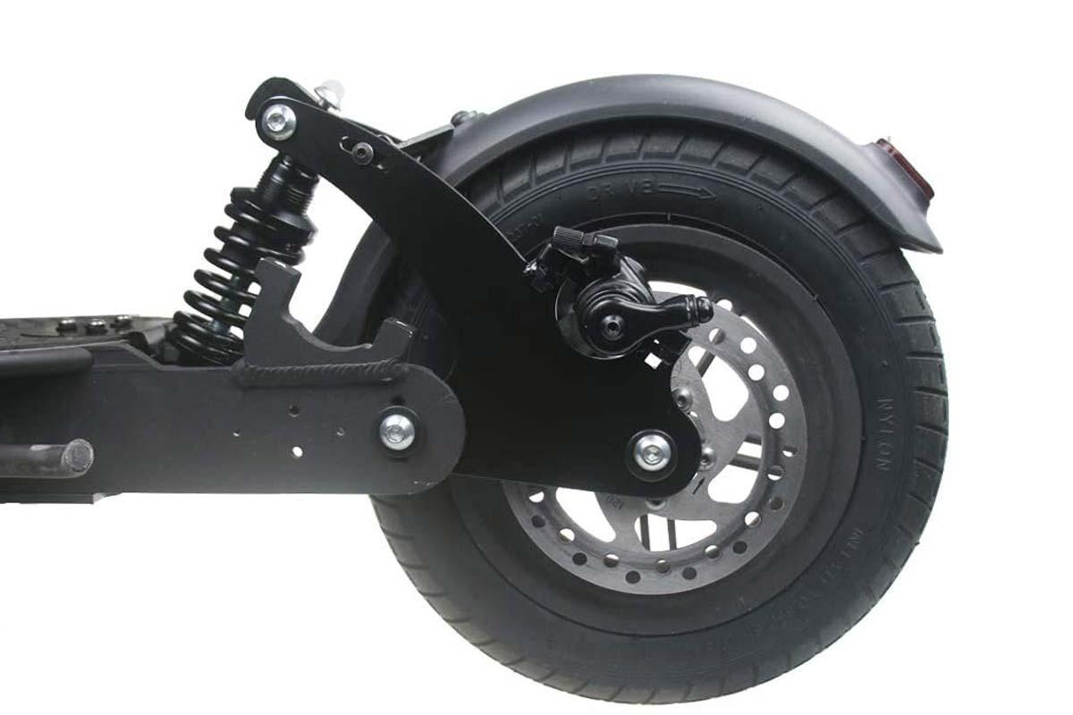 Suspension rear