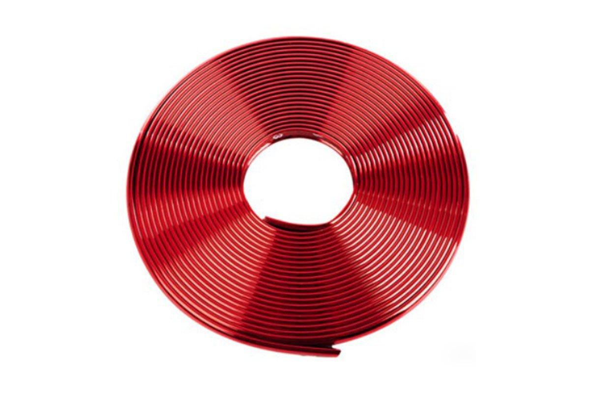 Bumper strip Red Metallic