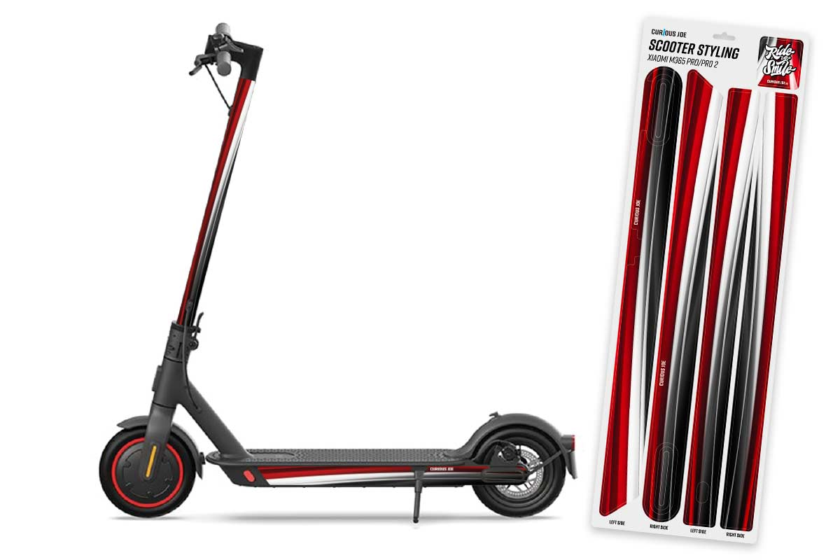 Scooter Styling Decal Set Sport