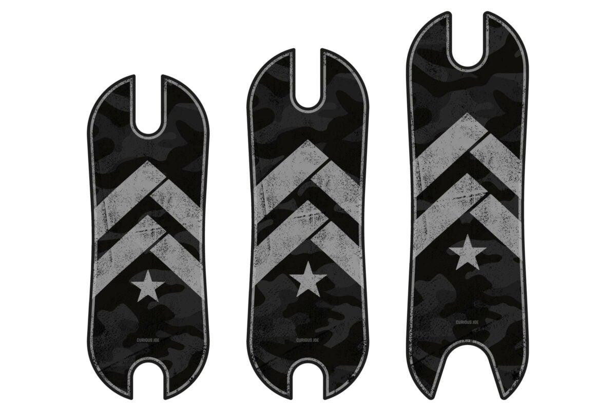 Footboard Signature - Force, grey