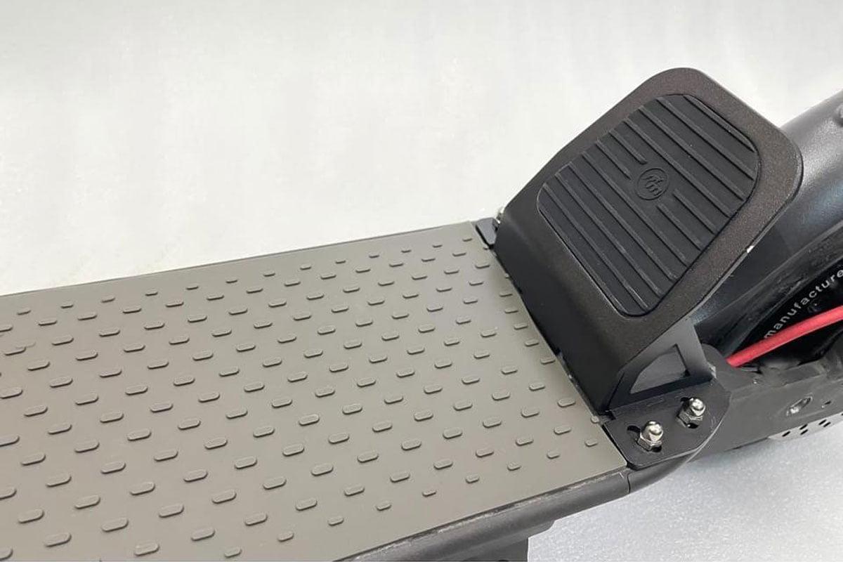 Monorim Foot pedal installed